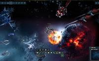 Die Kriegskarte von Weltraumspiel Dark Orbit