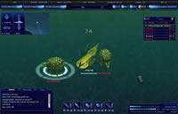Ein Unterwasserkampf im Action Browsergame Deepolis
