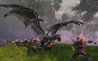 Der Kampf gegen einen Drachen bei Dragon's Prophet