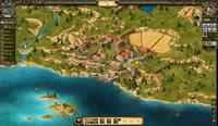 Übersichtkarte der Stadt in Grepolis
