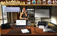 Screenshot vom Büro der Wirtschaftssimulation Kapiworld
