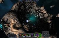 Kampfkarte im Weltraumspiel Pirate Galaxy