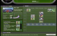 Die Aufstellung im Soccer Manager Browsergame