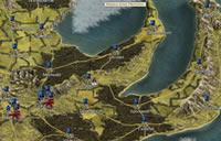 Die Map im Strategiespiel Thirty Kingdoms