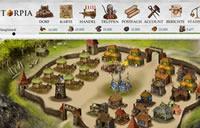 Das Dorf im Strategiespiel torpia