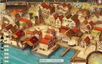 Der Hafen im Venezianer Browsergame