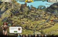 Eine Festung im Browsergame Zarenkriege.