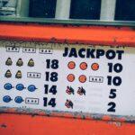 Jackpot auf einem Spielautomaten im Online Casinos